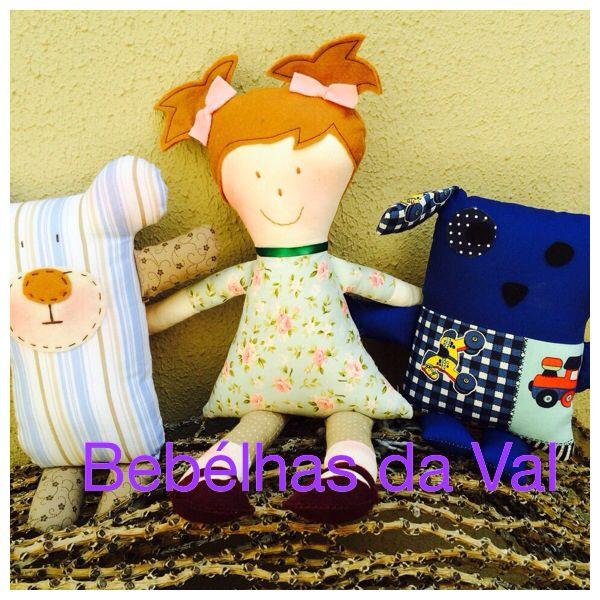 Naninhas e boneca Tati