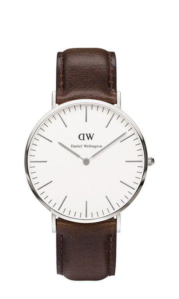 Daniel Wellington 0209DW Dark Brown Men's Classic Bristol Watch  Price: €199.00 Only