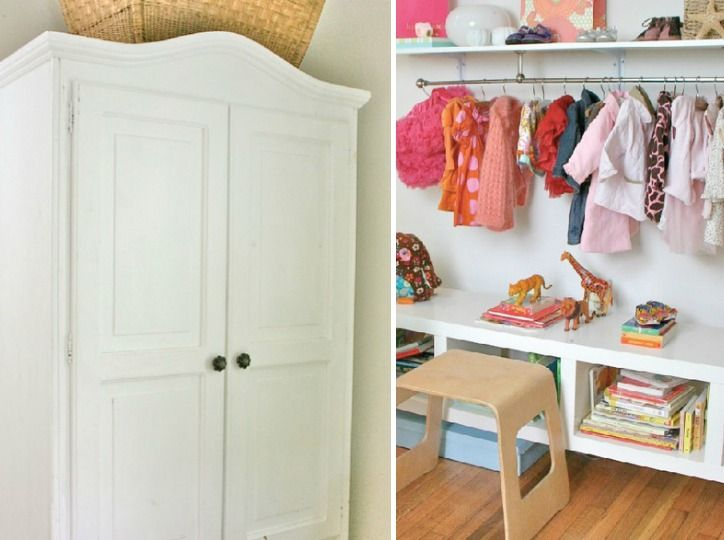Nurseries Without Closets Clothes Babies And Project