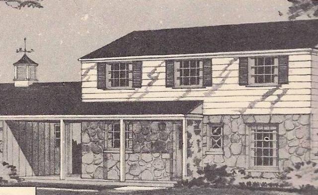 Ranch Rambler Style 1950 39 S Homes Retro Ranch