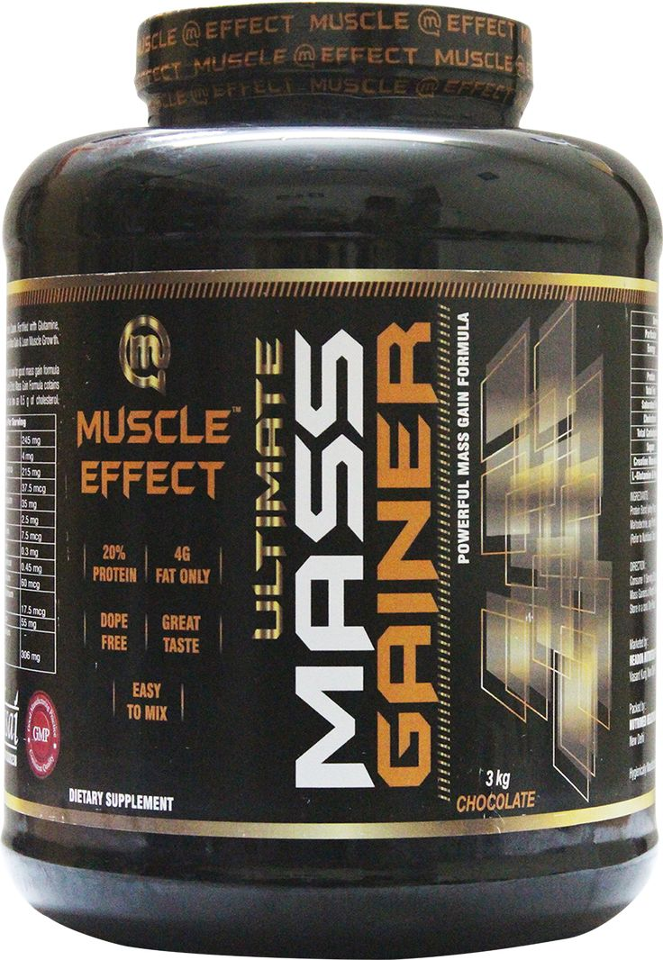 Muscle Effect Mass Gainer 3KG | Sports Supplements