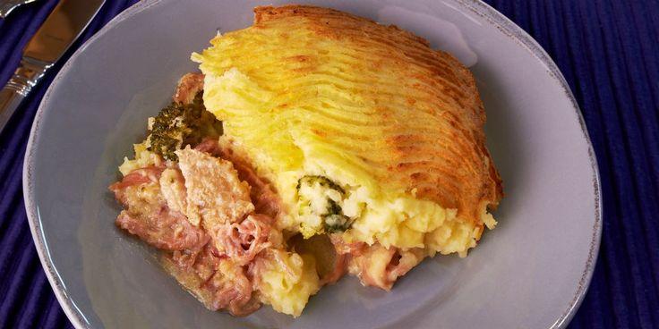 Turkey and Ham Pie