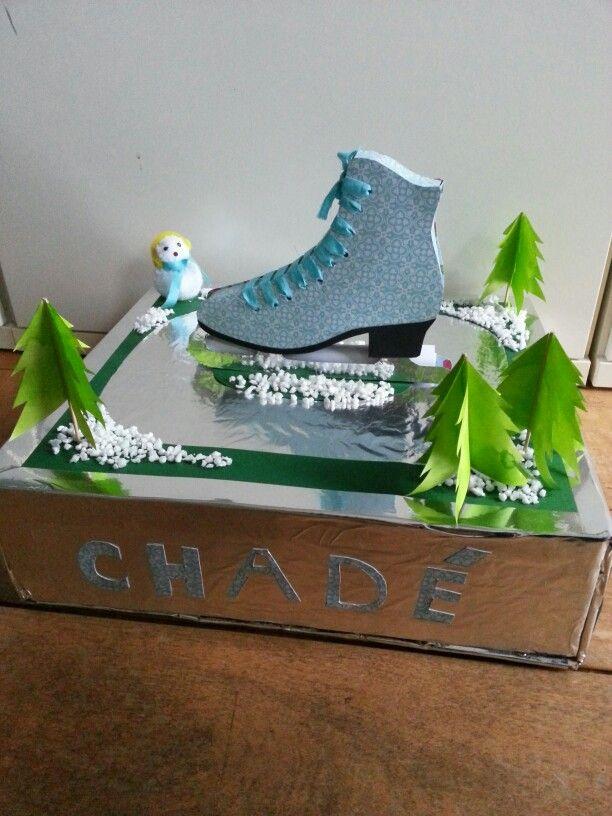 Sinterklaas surprise schaats/schaatsbaan