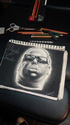 Biggie smalls portrait