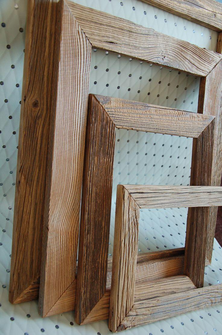 cadres en vieux bois/ ramki ze starego drewna:)