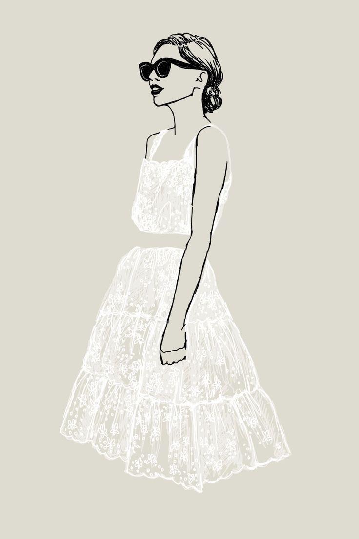 Lace Petticoat by Emilee Anne