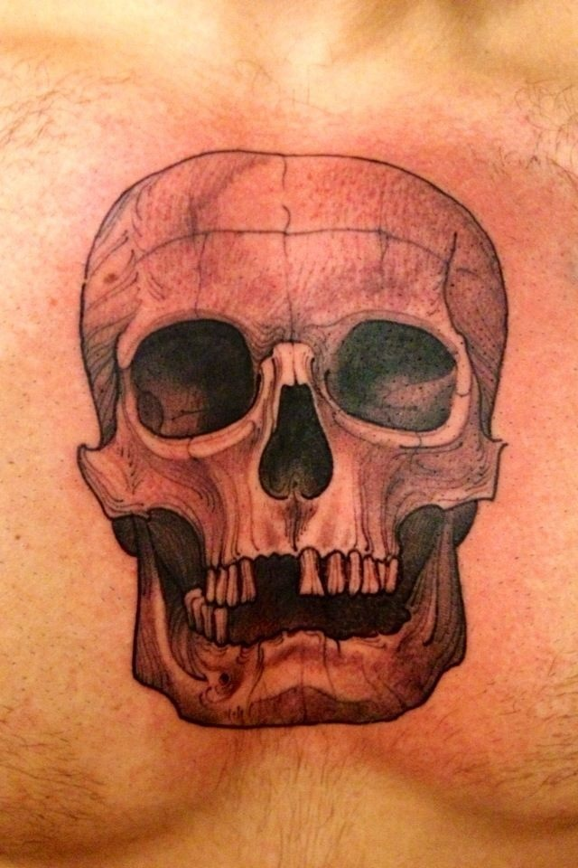 #tattooyoubrasil #joaochavez #tattoo #skull
