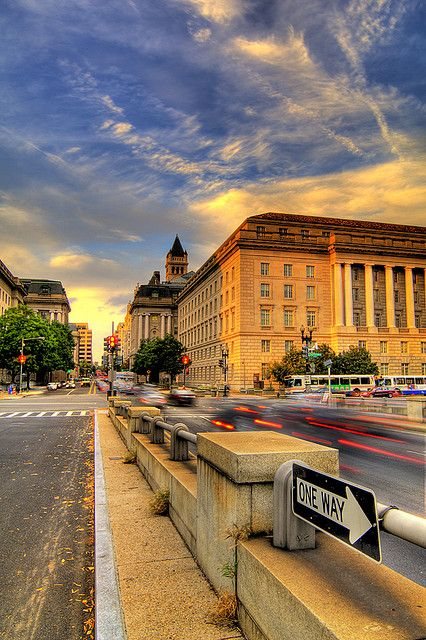 I've been in this building more times than i can count! Early Morning in Washington DC.