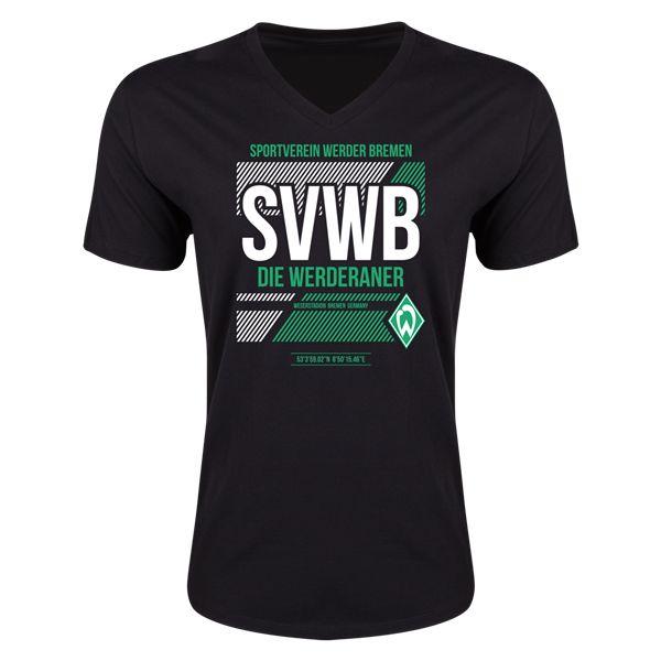 Werder Bremen SVWB V-Neck T-Shirt