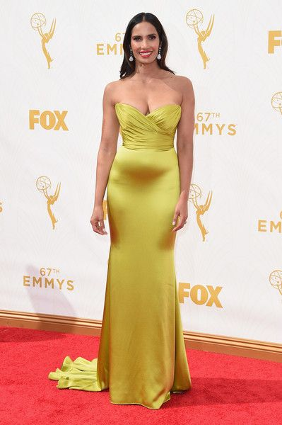 Padma Lakshmi Photos - 67th Annual Primetime Emmy Awards - Arrivals - Zimbio