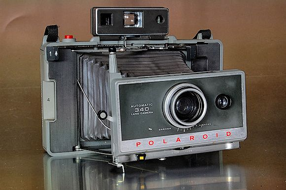Polaroid Land Camera Automatic 340 #vintage #camera