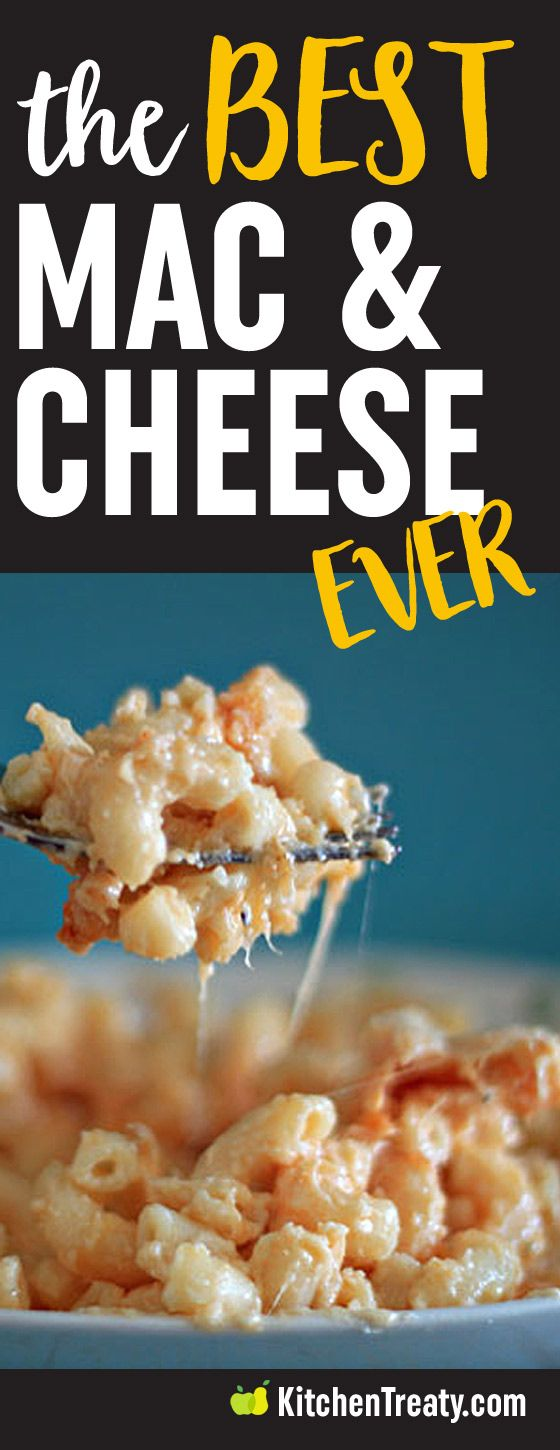The Best Macaroni and Cheese Recipe Ever - This is the recipe Brillhart uses
