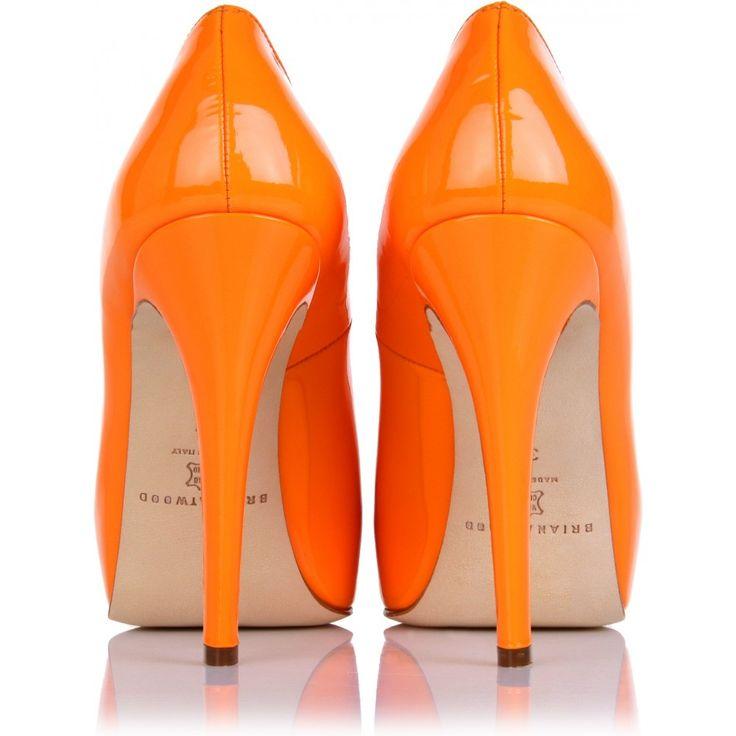 25 best ideas about orange shoes on pinterest orange sandals orange strappy high heels and. Black Bedroom Furniture Sets. Home Design Ideas