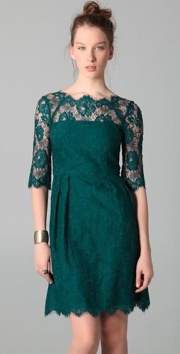 Milly Celia Lace Dress