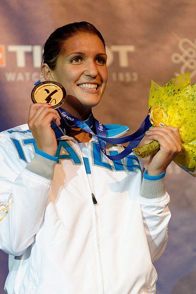 Arianna Errigo, una de las mejores del mundo en el deporte de la esgrima. Integrante del #TeamHerbalife