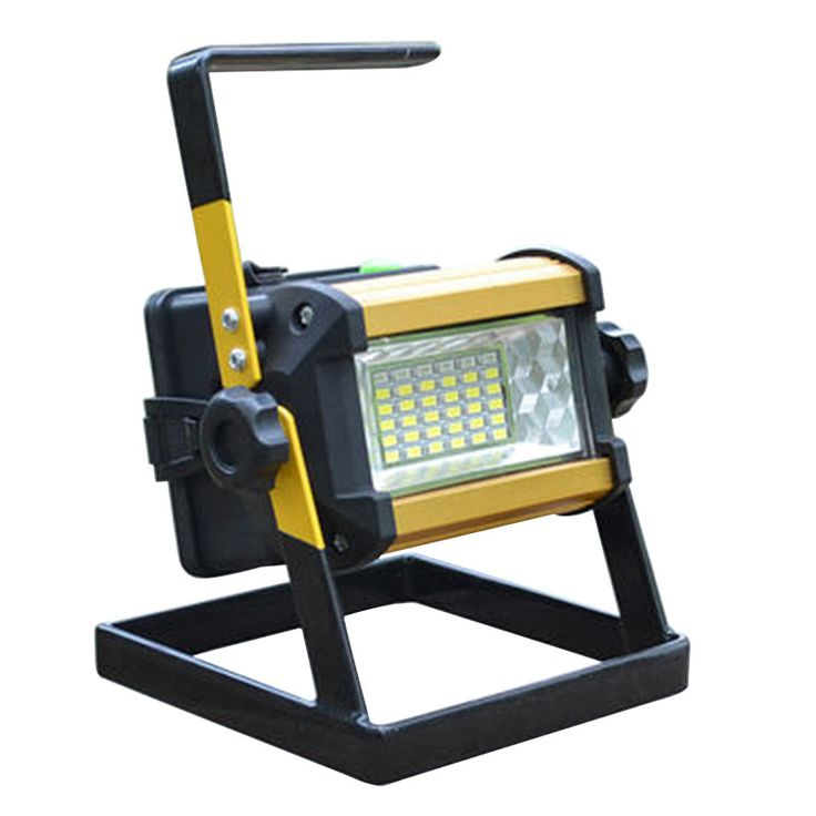 36LED 30W Portable Spotlights Rechargeable Outdoor LED Work Emergency light