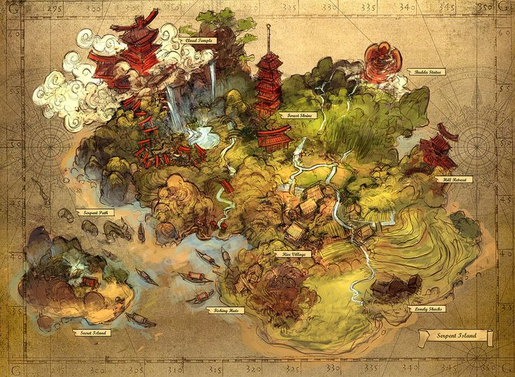 Old School RPG Map cartography | Create your own roleplaying game material w…