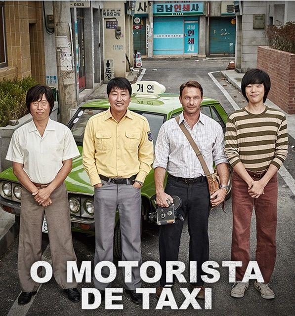 Filme O Motorista de Táxi - mistura de comédia, drama e ação na medida certa para contar de forma impactante, baseado em fatos reais, a Revolta de Gwangju, episódio importante da história moderna da Coréia do Sul.