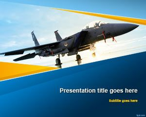 Aviation PowerPoint Template | Free Powerpoint Templates