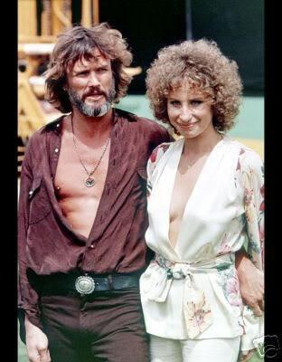 A STAR IS BORN (1976) - Kris Kristoferson & Barbra Streisand - Produced by Barbra Streisand & Jon Peters - Directed by Barbra Streisand - Warner Bros. - Publicity Still.