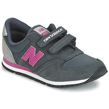 Baskets+basses+New+Balance+KE420+Gris+/+Rose+58.99+€