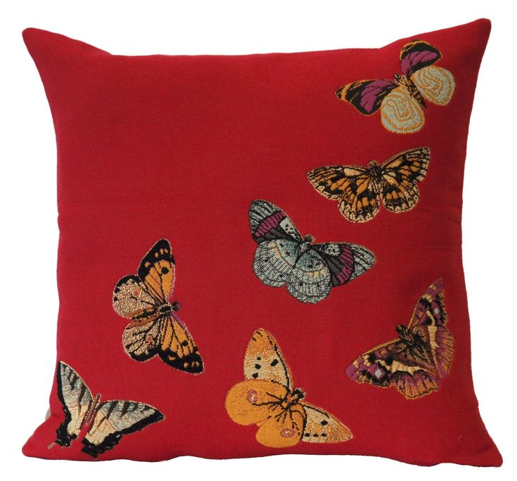 Butterfly cushion (various colours) | hardtofind.