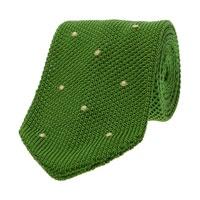 Tyler Durden Slim Knitted Silk Tie
