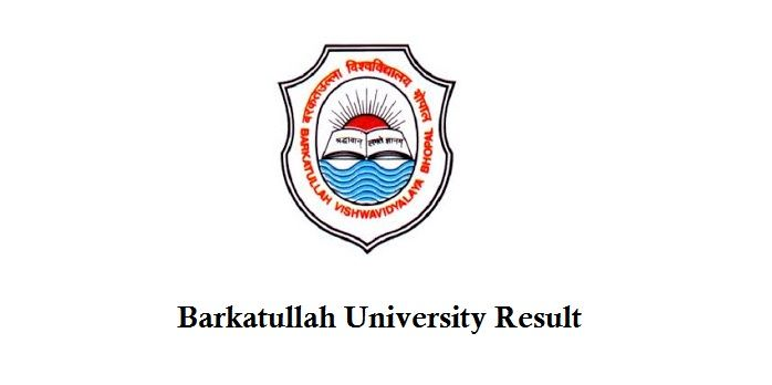 Bu Bhopal Results 2018 2019 Bu Bhopal Results 2018 Barkatullah