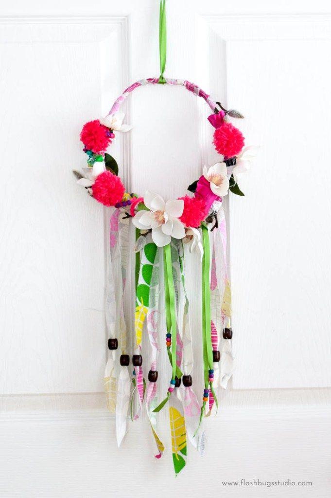 Make an easy DIY spring wreath in 6 easy steps.