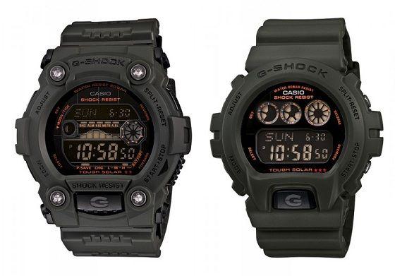 Casio G-Shock Solar Military Green Watch