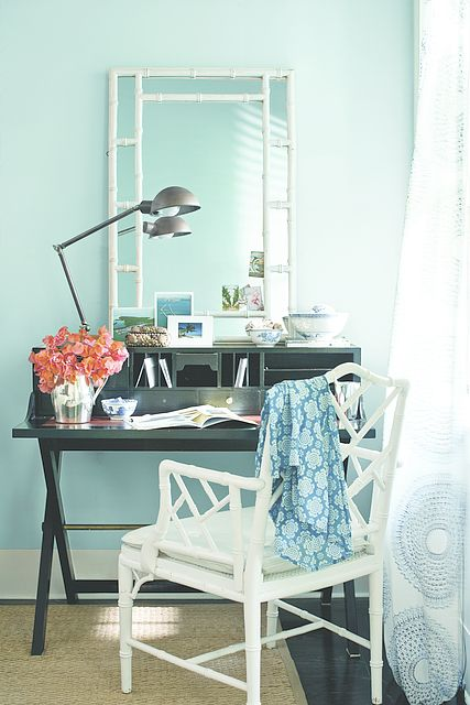 best office wall colors. wall color breath of fresh air best office colors