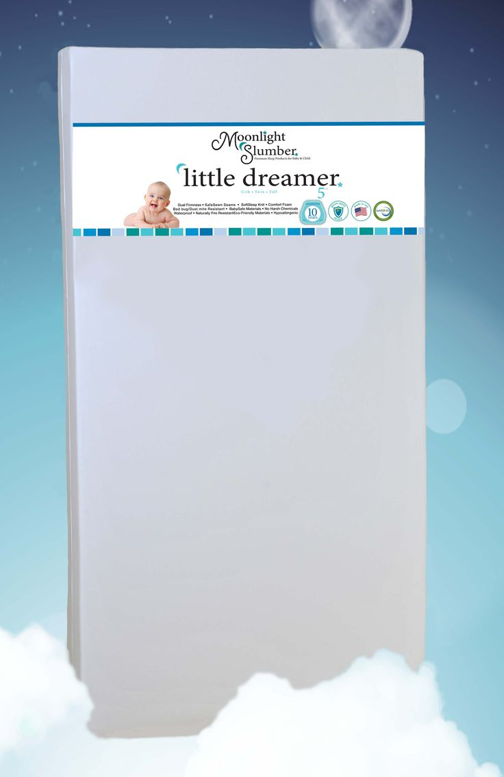 What is the best crib mattress on the market according to buyers on Amazon and experts in the industry?  The Little Dreamer from Moonlight Slumber.