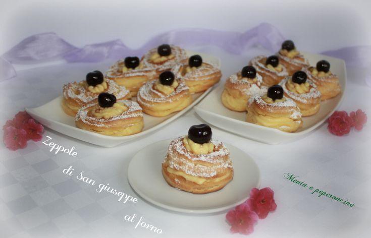 """Le """"Zeppole di San Giuseppe al forno"""" sono preparate in occasione della festa del papà, se volete realizzarle seguite la ricetta spiegata passo passo."""