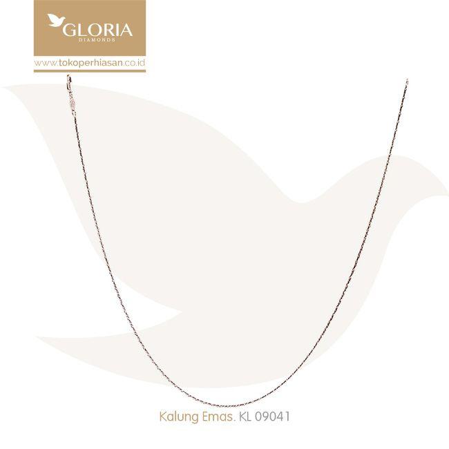 Kalung Emas Putih Polos Solid Bentuk Silinder. #goldnecklace #necklace #goldstuff #gold #goldjewelry #jewelry #perhiasanemas #kalungemas #tokoperhiasan #tokoemas