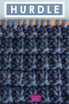 Learn How To Knit The Stockinette Stitch Pattern For Beginners