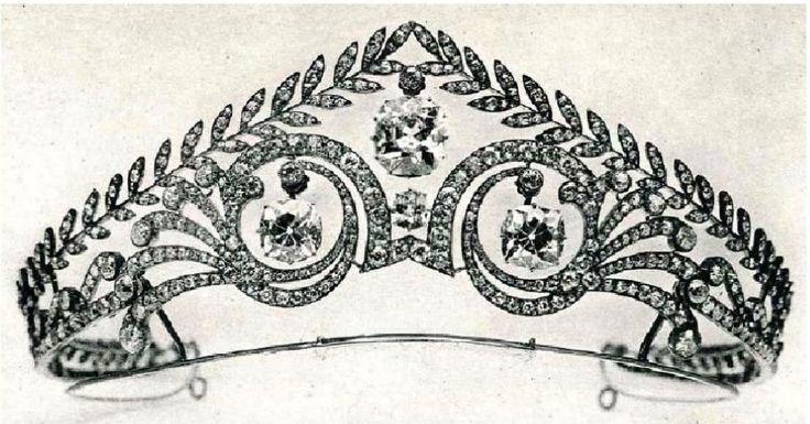 Imperatriz Josephine de France's tiara.