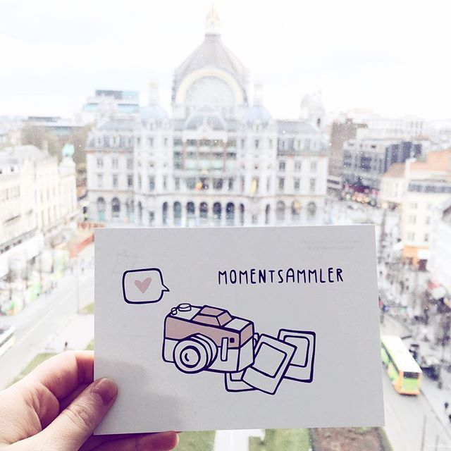 Liebe Grüße aus Antwerpen! #odernichtoderdoch #antwerp #momentsammler #travel #postcard #joanaslichtoesie
