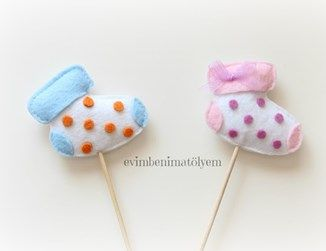 Çorap Çubuklu Bebek Şekeri