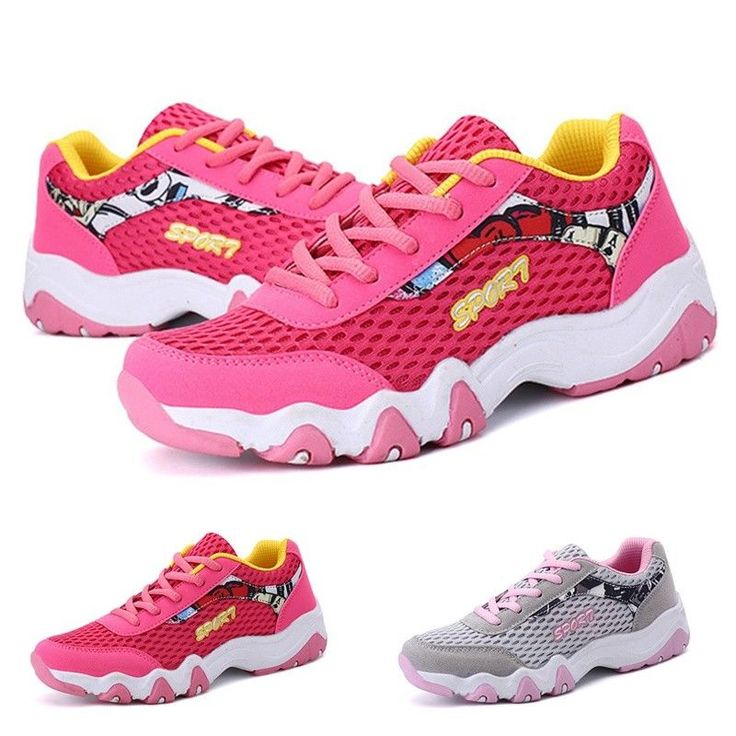 Womens Sport Shoes Casual Net Cloth Air Cushion Breathable Running Gym Trainning