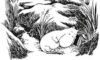 One of the greatest gifts a #children's #book can give you is to add future nostalgia to the small pleasures that will get you through the hard times when you're older. The world of the Moomins is threatened by comets and subject to terrifying winters. The #Moomins, however, concentrate on good manners, good #coffee and enjoying the summer.