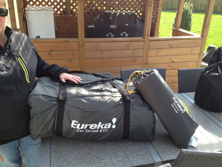 Eureka! The Grand BTC A really small pack size for a polycotton tent.