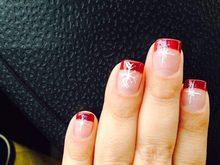 Acrylic Nails Christmas Spirit!