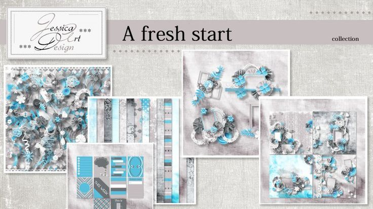 A fresh start collection by Jessica art-design
