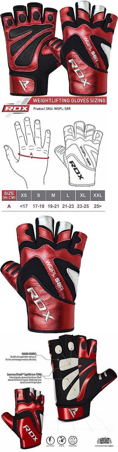 Gloves Straps and Hooks 179820: Rdx Weight Lifting Gym Gloves Fitness Crossfit Bodybuilding Training Workout Us -> BUY IT NOW ONLY: $38.99 on eBay!