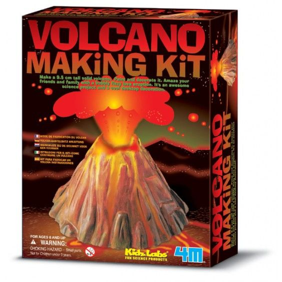 Sasha has been asking a zillion questions about volcanoes recently and telling me how hot lava is. He would simply love this kit! #Entropywishlist #pintowin