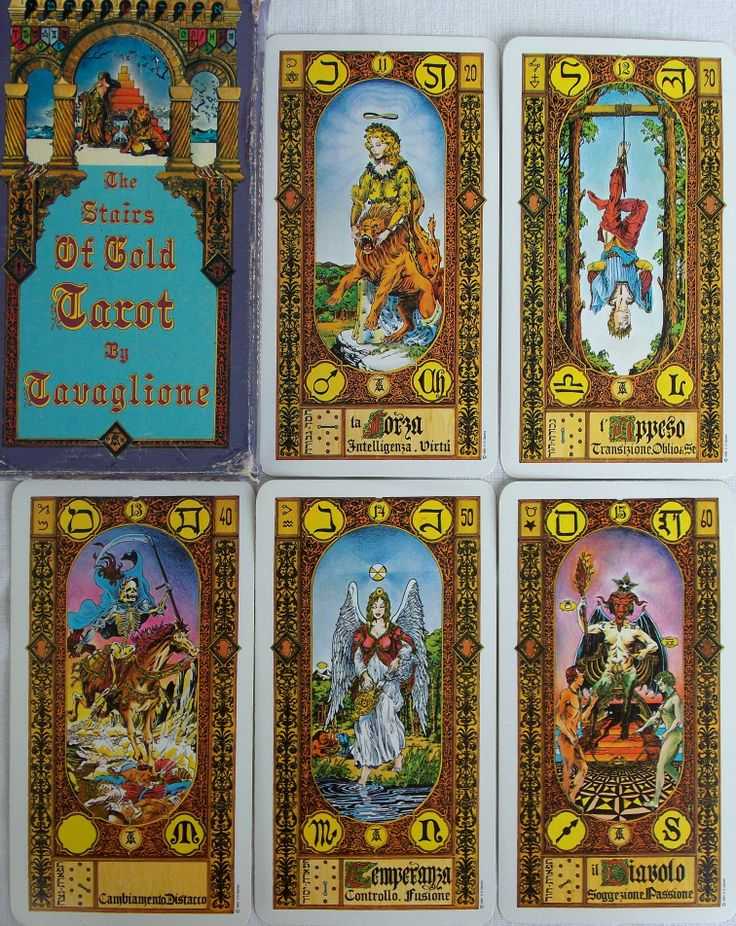 17 Best Tavaglione`s Stairs Of Gold Tarot. Images On Pinterest