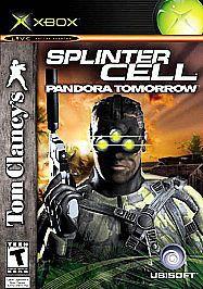 Tom Clancy's Splinter Cell Pandora Tomorrow Microsoft Xbox Complete Free Shippin