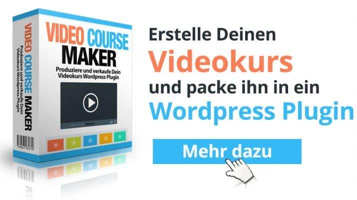 Mit dem Video Course Maker können Sie Kurse auf Ihrer Webseite erstellen. Falls Sie mehr darüber wissen möchten, schauen Sie bei Lifestyle4unique vorbei!