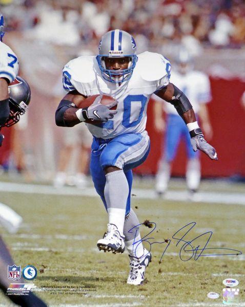 Barry Sanders Autographed 8x10 Photo Detroit Lions PSA/DNA Stock #105966