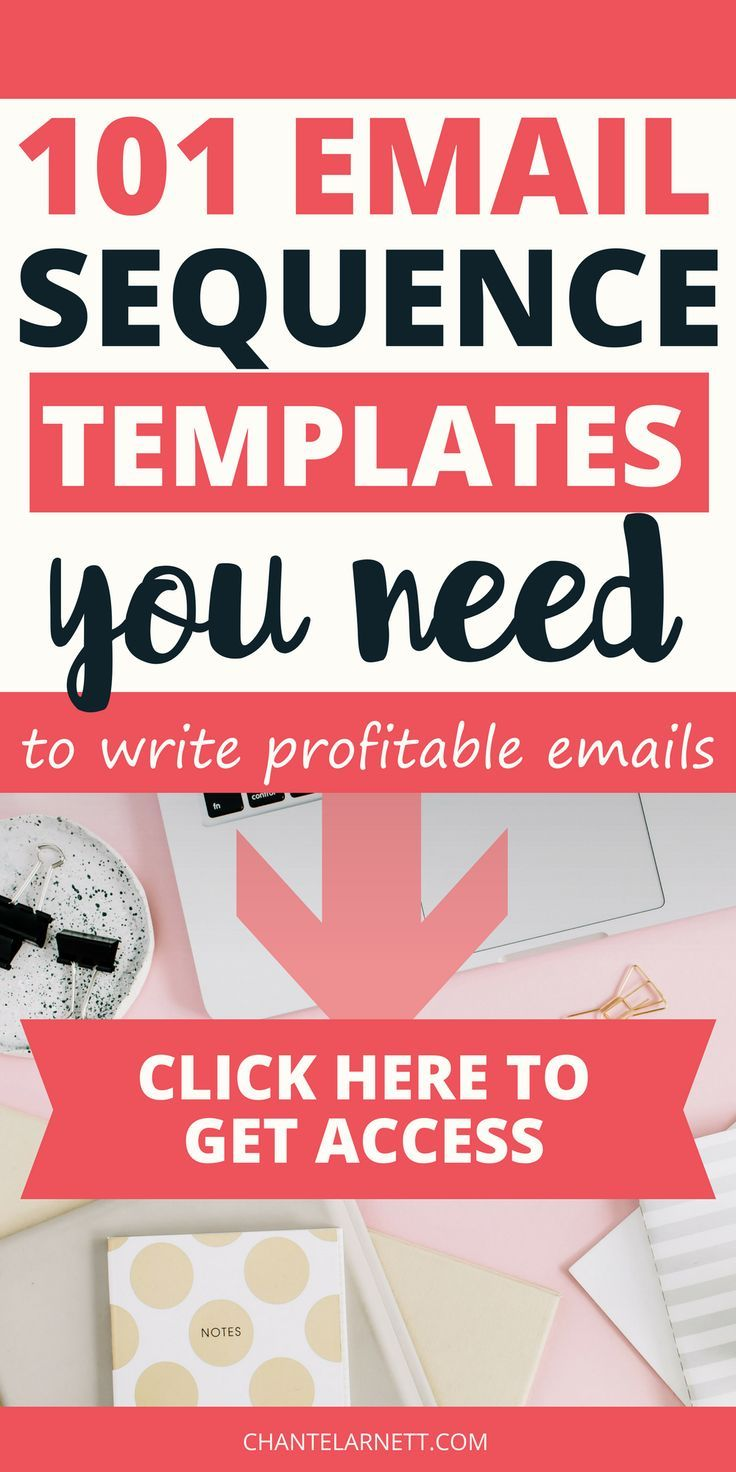 Looking for simple email templates to write profitable emails? These sales focused email templates will skyrocket your income from your blog or online business. Stop struggling with writing emails to your list and increase your conversions with the email sequence templates. #emailmarketing #template #blog